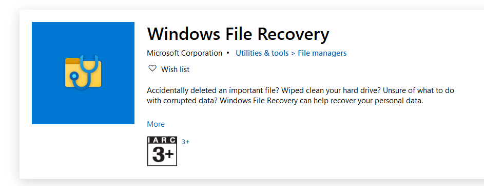 Microsoft excel file recovery software, free download